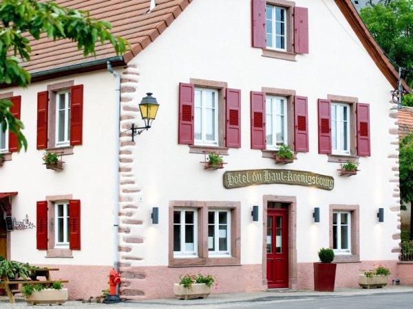 Hotel Haut Koenigsbourg Thannenkirch Elsass Charming Modern